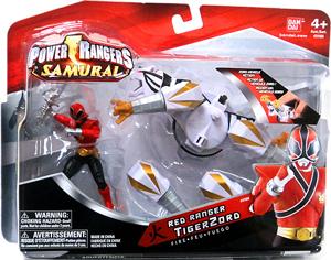 Power Rangers Samurai - Red Ranger TigerZord