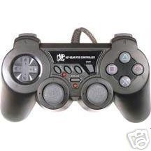 PS2 Hip Gear Dual Shock Controller[Blue or Black RANDOM]