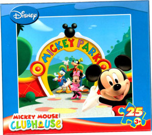 Disney Mickey Mouse Clubhouse 25 Piece Puzzle - Mickey and Friends