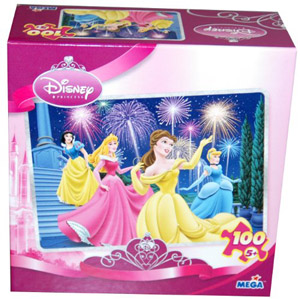Disney Princess 100 Piece Puzzle - Sparkles at Midnight