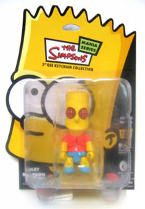 3-Inch BART SIMPSON MANIA QEE -  The Fly Vinyl