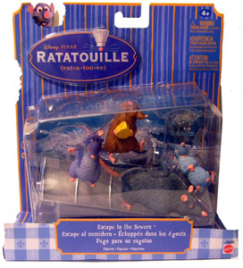 Ratatouille - Escape to the Sewers