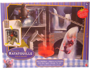 Ratatouille - Sewer World Splashdown