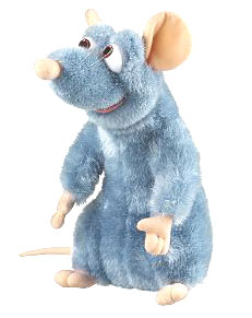 Ratatouille - Remy Stuff Doll - 7 Inch