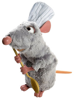 Ratatouille Little Chef Remy
