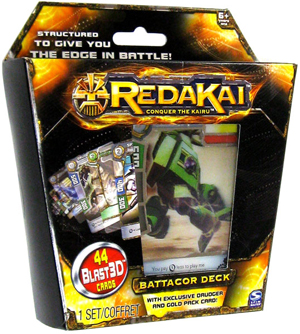 Redakai - Battacor Structure Deck