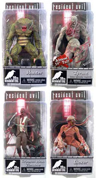 Resident Evil 10th Anniversary Series 2 set of 4