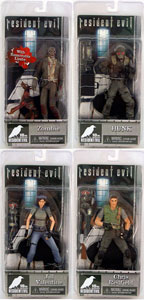 Resident Evil 10th Anniversary - Set of 4