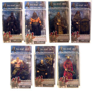 Resident Evil 4 Series 2 RANDOM MONK Set of 4