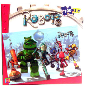 Robots The Movie Puzzle - The Robots