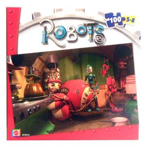 Robots The Movie Puzzle - Aunt Fanny