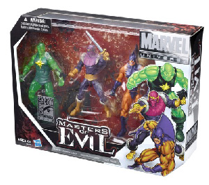 SDCC 2012 - Marvel Universe Masters Of Evil 3-Pack