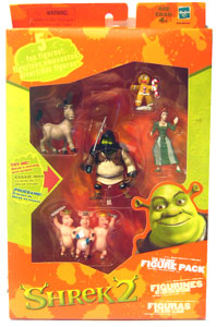 Shrek 2 Far Far Away Figure Pack with Donkey