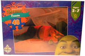 Shrek Puzzle - Puss In Boots 48 pcs