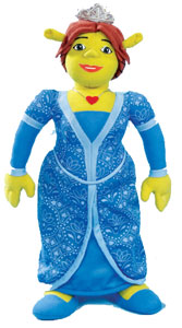 7-inch Princess Fiona Plush