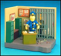 The Simpsons - Police Station With Eddie