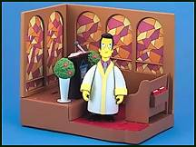 The Simpsons - Reverend Love Joy Playset
