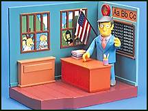 The Simpsons - Elementary Playset