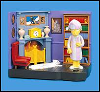 The Simpsons - Burns Livingroom Playset