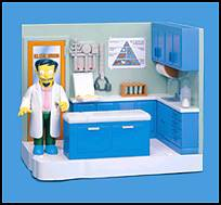 The Simpsons - Dr Nick Office Playset
