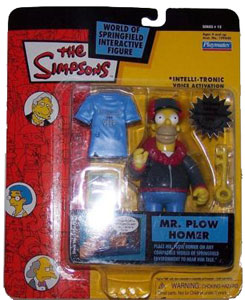 Simpsons - Mr Plow Homer