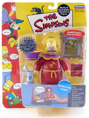 Simpsons - Stonecutter Homer