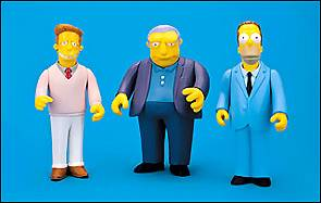 Simpsons Celebrity SERIES 1 Set