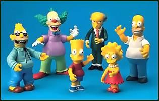 Simpsons Series 1 Set of 6