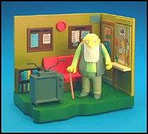 The Simpsons - Retirement Castle with Jasper