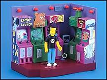 The Simpsons - Noseland Arcade Playset
