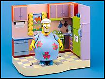 The Simpsons - Kitchen with MuuMuu Homer