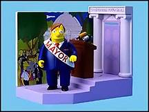 The Simpsons - Mayor Quimbee Playset