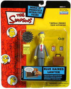 Simpsons - Blue Haired Lawyer