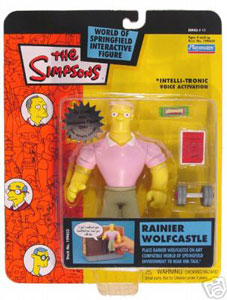 Simpsons - Rainier Wolfcastle