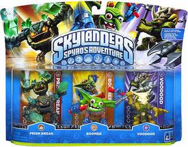 Skylanders - 3-Pack Prism Break, Boomer, Voodood