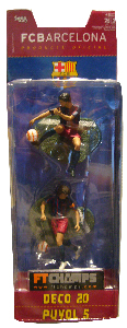 Barcelona - 3-Inch 2-Pack: Deco and Puyol