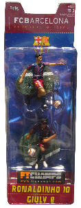 Barcelona - 3-Inch 2-Pack: Ronaldinho and Giuly