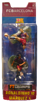 Barcelona - 3-Inch 2-Pack: Ronaldinho and Marquez