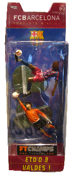 Barcelona - 3-Inch 2-Pack: Eto O and Valdes
