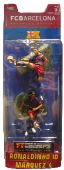 Barcelona - 3-Inch 2-Pack: Ronaldinho and Marquez
