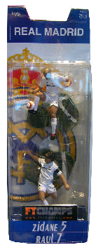 Real Madrid - 3-Inch 2-Pack: Zidane and Raul
