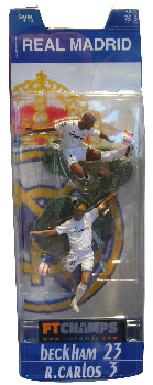 Real Madrid - 3-Inch 2-Pack: Beckham and R.Carlos