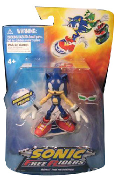 Sonic Free Riders - 3-Inch Sonic Rider