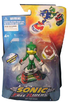 Sonic Free Riders - 3-Inch Jet Rider