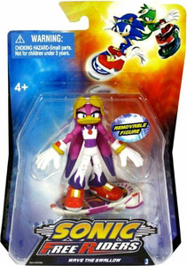 Sonic Free Riders - 3-Inch Wave The Swallow