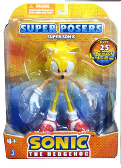 Sonic The Hedgehog - Super Poser Super Sonic