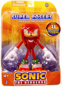Sonic The Hedgehog - Super Poser Knuckles