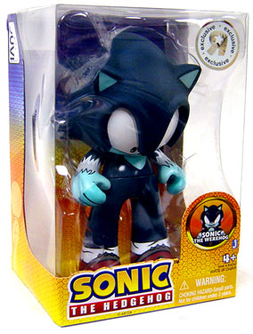 Sonic The Hedgehog - Juvi Vinyl Sonic the Werehog