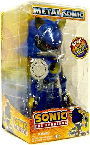 Sonice The Hedgehog - 10-Inch Juvi Vinyl Metal Sonic