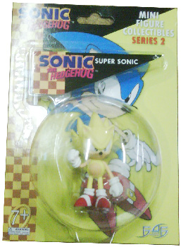 Sonic The Hedgehog - Mini Collectible 2.5 Inch Super Sonic